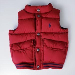 Ralph Lauren Reversible Puffer Vest 18 M